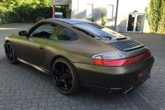 Porsche 996 Matt Bond Gold
