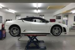 Ferrari Hakan Diamont White