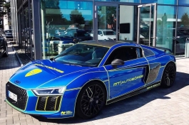 Audi R8 Lionsrun Thron Design4