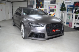 Audi RS6 3M 1080 S261 Satin Dark Grey4