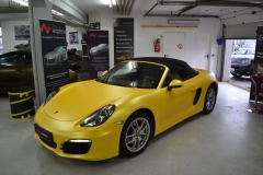 Porsche Boxster Sunflower