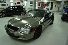 Mercedes Sl Black Chrom Matt Black