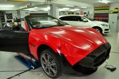 Maserati Cabrio Rot