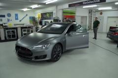 Tesla Frozen Grey Matt