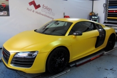 Audi R8 Sunflower Matt Metallic