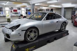 Porsche 996 Bruxsafol PWF Matt Diamond White Metallic1
