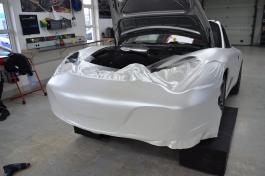 Porsche 996 Bruxsafol PWF Matt Diamond White Metallic3