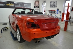 BMW 1er Cabrio Fiery Orange