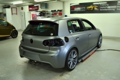 VW Golf R 32 Frozen Grey Matt 4007 Brux