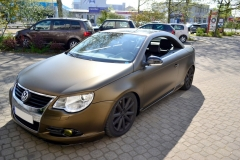 VW Eos Matt Bond Gold