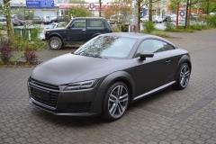 Audi TT Matt Diamond Black 2