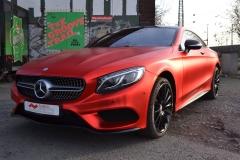 Mercedes S Chrom Matt Rot