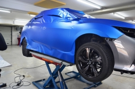 Honda Civic KPMF Matt Iced Blue Titanium2