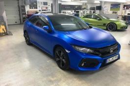 Honda Civic KPMF Matt Iced Blue Titanium4