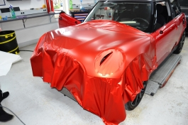 Mini Cooper S Bruxsafol PWF Matt Anozized Red2